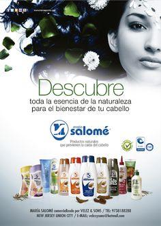 Ahora encuentra los productos con base en extractos naturales que ayudan a prevenir la caída del cabello María Salomé en Estados Unidos.