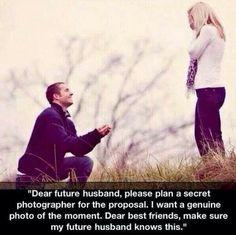Dear future husband,  lol