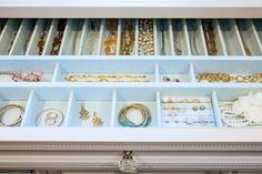 Home Organization Ideas and Inspiration - Jewelry   Live Love in the Home