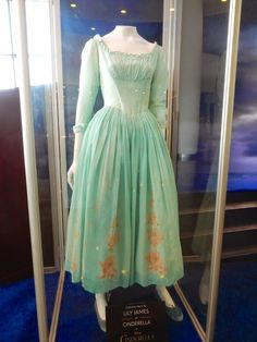 Lily James Cinderella movie costume... I want!