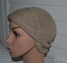 Pure Cashmere Hat Chemo Hat - Nola Cloche - Medium Tan Color. $37.00, via Etsy.