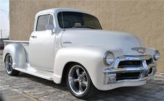 1954 CHEVROLET 3100 CUSTOM 5 WINDOW PICKUP - Barrett-Jackson Auction Company - World's Greatest Collector Car Auctions cadillac diamond white tricoat