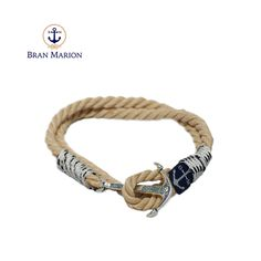 Nautical Bracelet, Nautical Jewelry, Marine Rope, Everyday Look, Olympus, Anklet, Handmade Bracelets, Jewelry Collection, Your Style