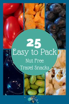 Easy to Pack Nut Free Travel Snacks-Kids Are A Trip