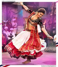 Her lehenga. Deepika from Ram leela. Her leela is graceful and theekhi.