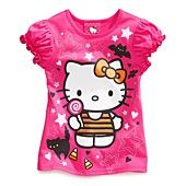 #hellokitty #halloween pink graphic tee available at Macy's