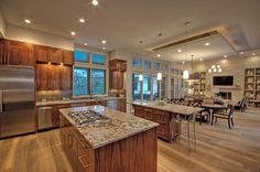 Open Concept Ideas Kitchens Design Floors Plans Contemporary Kitchens