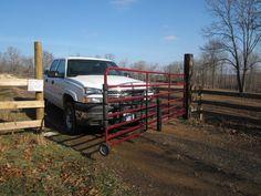 Drive Over Gate Bump Gate Barn World Livestock Gates
