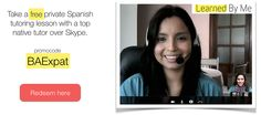 Free Spanish lesson over skype!