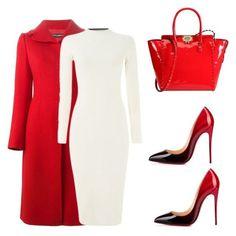 Вдохновение зимними праздниками можно выразить через образы в любимой цветовой гамме Санта Клауса. Красно-белый наряд поможет выглядеть стильно и привлекательно. А почему бы не облачится в костюм «подружки Санты»? Рубиново-красное платье стильно сочетается с милой сумочкой из меха цвета шампань. Браслет с символами праздника подчеркнет ваше настроение. Накиньте на плечи белую шубку, приправленную ажурным шарфиком …