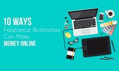 #freelance #freelancer #design #graphicdesign #art #photography #entrepreneur #business #branding #illustration #marketing #designer #graphicdesigner #creative #logo #artist #illustrator #work #photographer #dise #makeup #photoshop #freelancelife #webdesign #instagram #startup #coworking #photooftheday #marketingdigital #bhfyp Make Quick Money, Make Money From Home, Make Money Online, How To Make, Freelance Illustration Jobs, Freelance Illustrator, How To Do Drawing, Freelance Marketplace, Making Money Teens