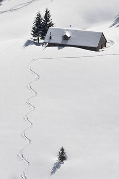 Skiing somewhere. Switzerland?