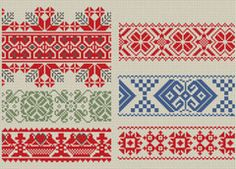 Folkology has Hungarian needlework patterns