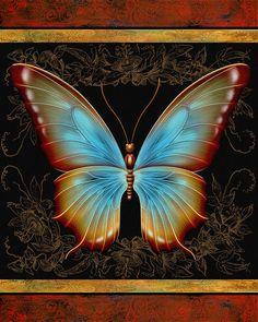 Butterfly Treasure-Debra Painting