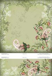 p6321 pale green paisley - MEGSGARDENL.COM