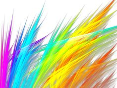 fractal grasses | rainbow grass fractal by debzb17 digital art fractal art raw