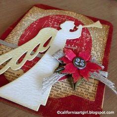 Richele Christensen: Angelic Christmas Card