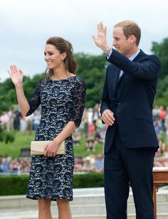 Prince William and Kate Middleton Touch Down in Ottawa to Start Their Canadian Trip!
