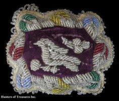 Antique Native American Beadwork Iroquois Indian Beaded Pincushion Old | eBay