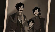 The Legend of Korra: Tahno family pic lol