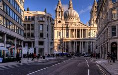 St Paul's Cathedral, City of London, UK.