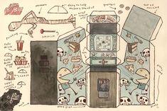 Scott C - Cut out Arcade Machines