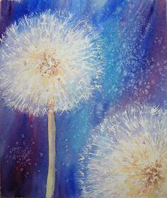 dandelion painting - Google Search