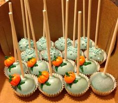 Disney's Cinderella cake pops-Sweet Treats by Marta