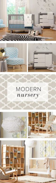 Refresh your little one's nursery with bright & bold patterns and cheery updates. Find everything you need for the perfect modern nursery. Baby Nursery Decor, Nursery Neutral, Nursery Design, Baby Decor, Nursery Room, Girl Nursery, Nursery Ideas, Bedroom, Baby Boy Rooms