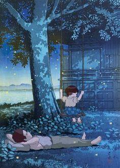 Ghibli Mashups Japanese & Asian poster prints by Lina Kisonyte | Displate Studio Ghibli Art, Studio Ghibli Movies, Studio Ghibli Poster, Miyazaki, Studio Ghibli Background, Grave Of The Fireflies, Japanese Animated Movies, Photocollage, Scenery Wallpaper
