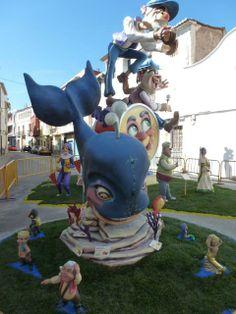 Falla infantil La Plaça i Natzaré - 3er premio Monuments, Sonic The Hedgehog, Kindergarten, Park, Fictional Characters, Mardi Gras, Fails, Parks, Architecture