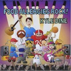 Food Allergies Rock! CD that celebrates a kids food allergies