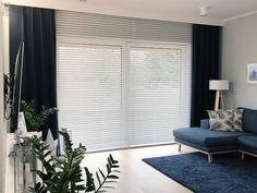 Apartment Checklist, Teak, Blinds, Loft, Curtains, Home Decor, Decoration Home, Room Decor, Shades Blinds