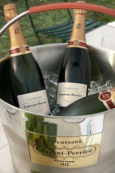 Laurent Perrier Brut Champagne (Blue Lagoon Cruise, Fiji.  2002)