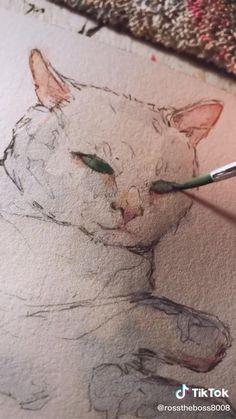 Cool Art Drawings, Realistic Drawings, Art Drawings Sketches, Animal Drawings, Art Painting Gallery, Painting & Drawing, Arte Sketchbook, Wow Art, Pastel Art