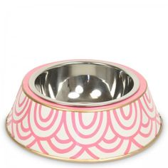Pink Scales Dog Bowl