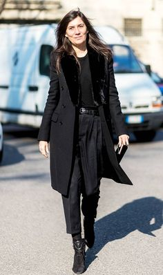 The Most Fashionable Over-40 French Women | Who What Wear