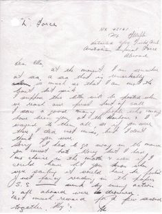 Setting sail for the unknown as Field Ambulance officer, 1941. This was the first letter that Thomas Webb wrote home to his wife after sailing out of Sydney on the way to New Britain. Thomas was on board the HMT Katoomba, which sailed on 18th March, 1941, so he wrote this letter very soon after that date. Sadly, Thomas did not return, he was killed in action on 4th February, 1942. #Letter