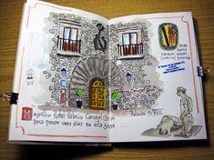 Blog sobre dibujantes en cuaderno,