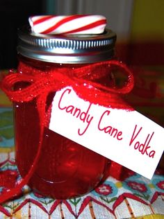 Candy Cane Vodka- festive!