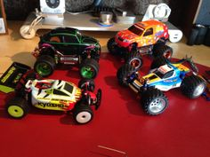 I love Kyosho's Mini-z RC line. I can't wait until the grandson is old enough for us both to goof off with a set.