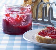 If you are a jam-making novice, raspberry jam is a good one to start with as it's so quick