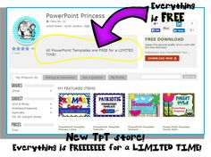Everything in this store is FREEE for a limited time!