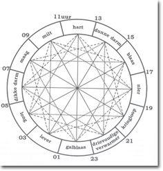 Een heel goede site over o.a. de chinese klok met uitleg functies meridianen en uitleg over energetische massages. Ook een goede site : http://www.ahealthylife.nl/de-chinese-orgaanklok-nader-bekeken/