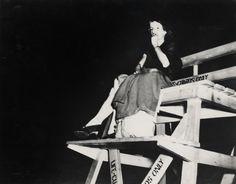 Weegee - Night, Coney Island (1940)