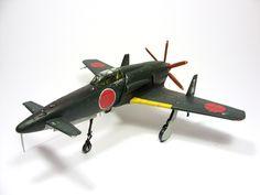 1:72 J7W Shinden VIII by Zero-Cannard.deviantart.com on @deviantART