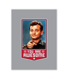 Bill Murray Shirts… Because Its Bill F*CKIN MURRAY | The Chivery Ground Beef Stews, The Chivery, Bill Murray, Epson Ink, Ladies Golf, Stripes, Wall Art, Feelings, Shirts