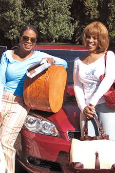 Oprah and Gayle drive cross-country.