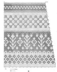 View album on Yandex. Fair Isle Knitting Patterns, Knitting Charts, Loom Knitting, Knitting Stitches, Knitting Socks, Fair Isle Pattern, Cross Stitch Borders, Cross Stitch Designs, Stitch Patterns