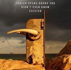 Pray as long as you can,